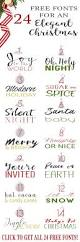 Christmas Cards Invitation 24 Free Fonts For Christmas Cards Invitations And Printables