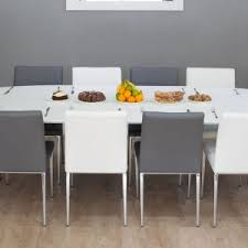 White Parsons Dining Table Furniture Luxury Modern Dining Tables For Elegant Dining Set
