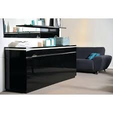 meuble cuisine noir laqué meuble de cuisine noir laqu cuisine noir laque plan de travail