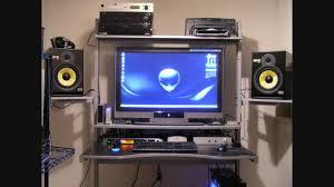 cool desk setup compilation youtube