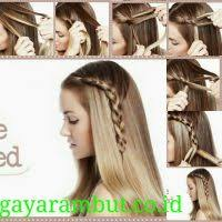 tutorial mengikat rambut kepang 19 cara menata rambut panjang untuk sehari hari paling mudah dan