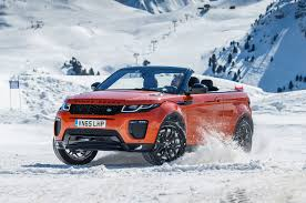 jeep convertible white 2017 range rover evoque convertible review