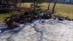 techo bloc athena champlain grey paver patio sterling va youtube