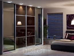 wooden glass sliding doors apartment sweet cream wooden sliding door cupboard with white