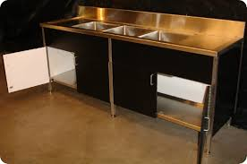 kitchen stainless steel commercial kitchen cabinets desigining