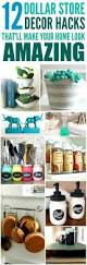 Home Decors Stores by Top 25 Best Dollar Store Hacks Ideas On Pinterest Dollar Store