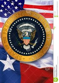 American State Flags Digital Composite The Official Seal Of The President American
