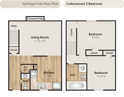 Bath Floor Plans Fort Collins Apartments Floor Plans Heritage Park Apartments