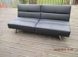 Leather Click Clack Sofa Click Clack Sofa Abbyson Living Belize Clickclack Sofa Gray Item