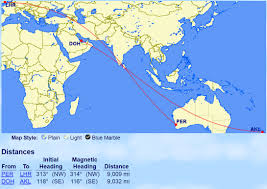 Qantas Route Map by A New World U0027s Longest Flight Will Be Announced Tomorrow But It