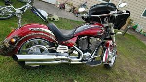 victory kingpin custom motorcycles for sale