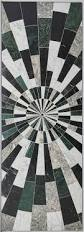 kelly wearstler x ann sacks u0027liaison palm u0027 stone patterned tiles