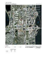 West Palm Beach Map West Palm Beach Place Type Analysis