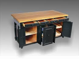 rolling kitchen island with storage modern mobile i 1833590804 tiny kitchen cart with butcher block top for chopping and trash bin storagekitchen dining wheel or