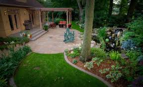 Deck And Patio Ideas For Small Backyards Triyae Com U003d Backyard Landscaping Ideas With Deck Various Design