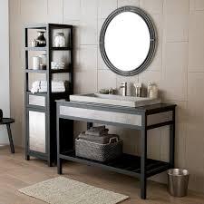 Wrought Iron Bathroom Furniture Bathroom Decorating Ideas Using Mounted Wall Black Wrought Iron