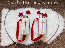 valentine craft for kids cupid u0027s diy bow and arrow valentines