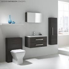 recess designer modular bathroom vanity unit rf302 shining units