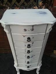 Shabby Chic Jewelry Armoire by The 25 Best Standing Jewelry Box Ideas On Pinterest Before