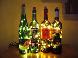 lights made out of wine bottles wine bottle accent light bottle wine and lights