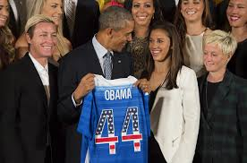 White House Tours Obama President Obama Honors Uswnt At White House For Winning World Cup