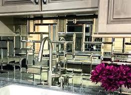 mirrored kitchen backsplash mirrored kitchen backsplash image of kitchen mirror style mirrored