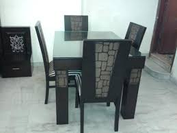 Wooden Tables Wooden Dining Table Set Manufacturer From New Delhi - Dinning table designs