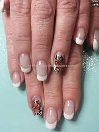 french gel nail artgelnailsart gel nails french nails wedding