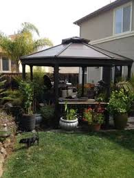 Costco Sunsetter Awning Costco Gazebo In My Garden The Garden Pinterest Costco