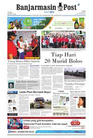 banjarmasin post edisi cetak senin 16 april 2012 by banjarmasin