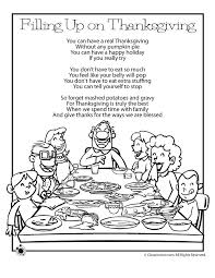 thanksgiving poems filling up on thanksgiving woo jr