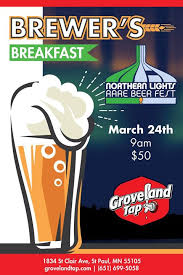 northern lights rare beer fest brewers breakfast for northern lights rare beer fest at the official