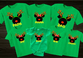 christmas shirts disney christmas reindeer family vacation t shirts the official