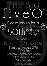 birthday invites the best choice 50th birthday invitations 50th