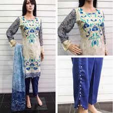 latest trend of tulip pants in pakistan 2017 designer dresses