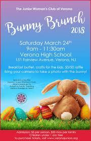 when will the easter bunny visit verona verona cedar grove nj