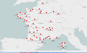 Annecy France Map by Airports In France Map