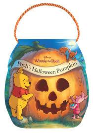 winnie the pooh pooh u0027s halloween pumpkin disney book group