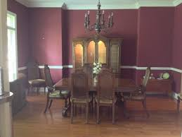 Henredon Dining Room Chairs Vintage Henredon Dining Room Set My Antique Furniture Collection