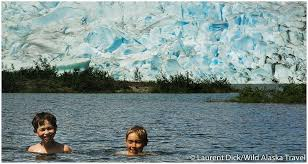 Alaska wild swimming images Glacial swim to cool off during the alaska heat wave alaska365 jpg