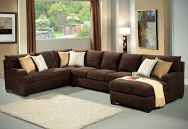 chaise light brown leather sectional sofa couch with recliners