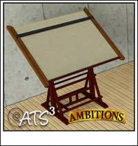 Custom Drafting Tables Around The Sims 3 Custom Content Downloads Objects Office
