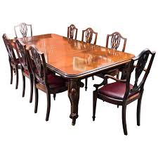 Antique Mahogany Dining Room Furniture by Antique Dining Room Table Chairs U2013 Home Decor Gallery Ideas