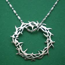 crown of thorns necklace crown of thorns jesus necklace pend end 8 15 2018 11 40 am