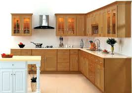 preassembled kitchen cabinets kitchen cabinets cool brown