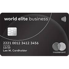 Us Government Business Cards World Elite Mastercard For Business Business Rewards U0026 Higher