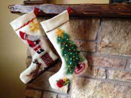 needle felted christmas stockings for the olympia waldorf