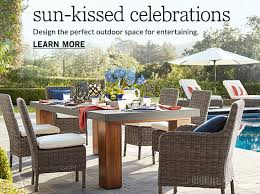Outdoor Dining Room Furniture Outdoor Dining Tables Pottery Barn
