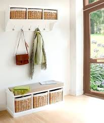 Entryway Storage Bench With Coat Rack Entryway Storage Bench With Coat Rack Image Of Entryway Storage