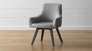harvey chair black crate and barrel